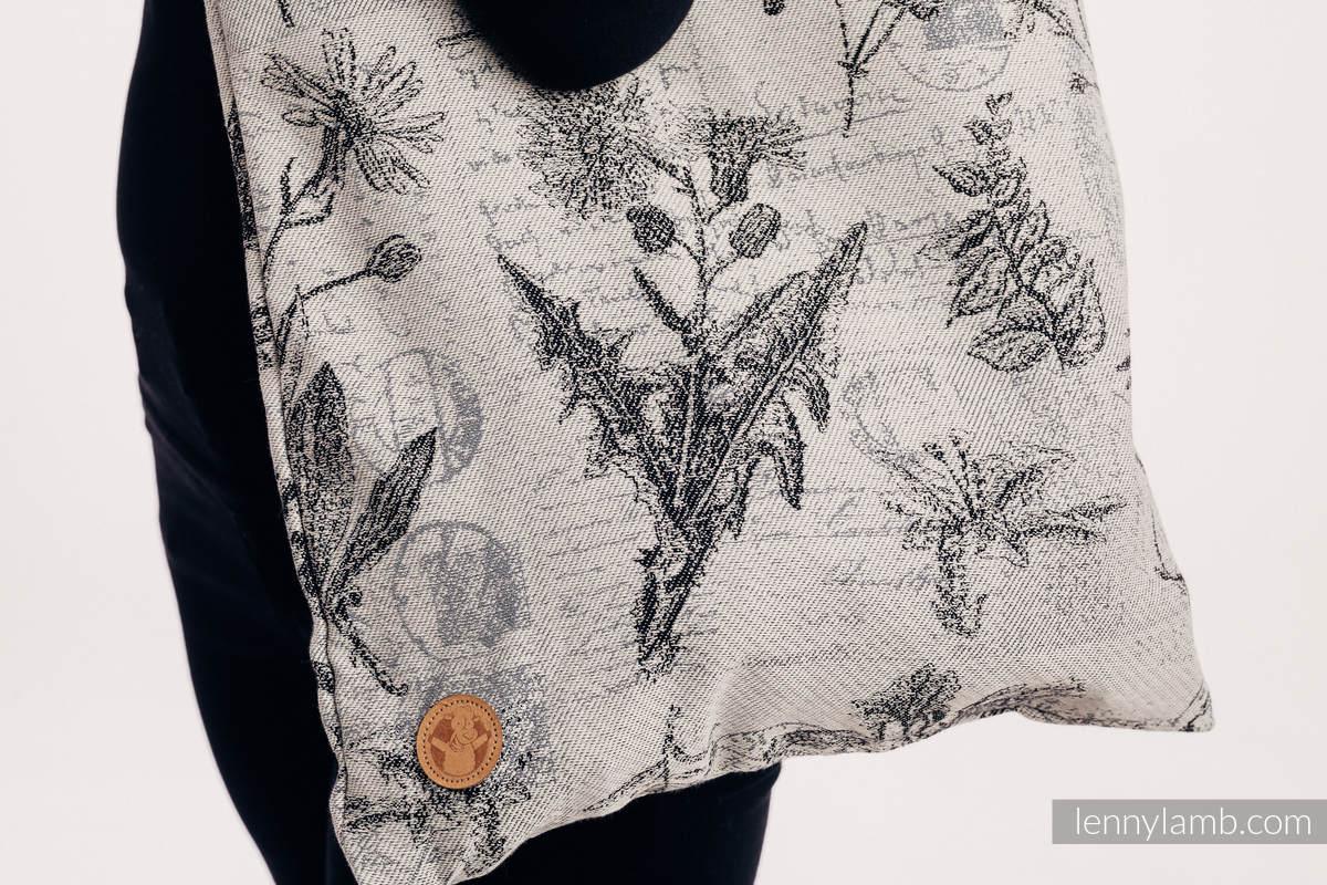 Shopping bag made of wrap fabric (100% cotton) - HERBARIUM ROUNDHAY GARDEN #babywearing