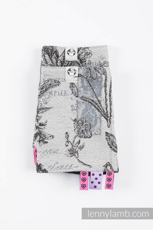 Drool Pads & Reach Straps Set, (60% cotton, 40% polyester) - HERBARIUM ROUNDHAY GARDEN #babywearing
