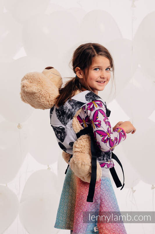 Doll Carrier made of woven fabric, 100% cotton - LOVKA CLASSIC   (grade B) #babywearing
