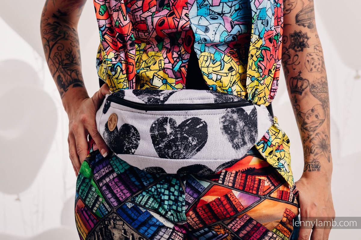 Waist Bag made of woven fabric, (100% cotton) - LOVKA CLASSIC   #babywearing
