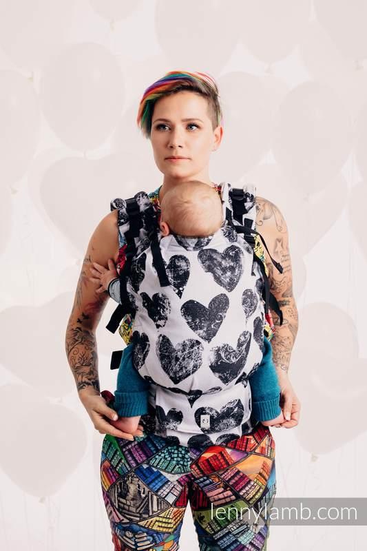 LennyUp Carrier, Standard Size, jacquard weave 100% cotton - LOVKA CLASSIC   #babywearing