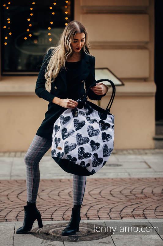 Large Handbag - UNIVERSE - LOVKA CLASSIC  (66% cotton, 34% viscose) #babywearing