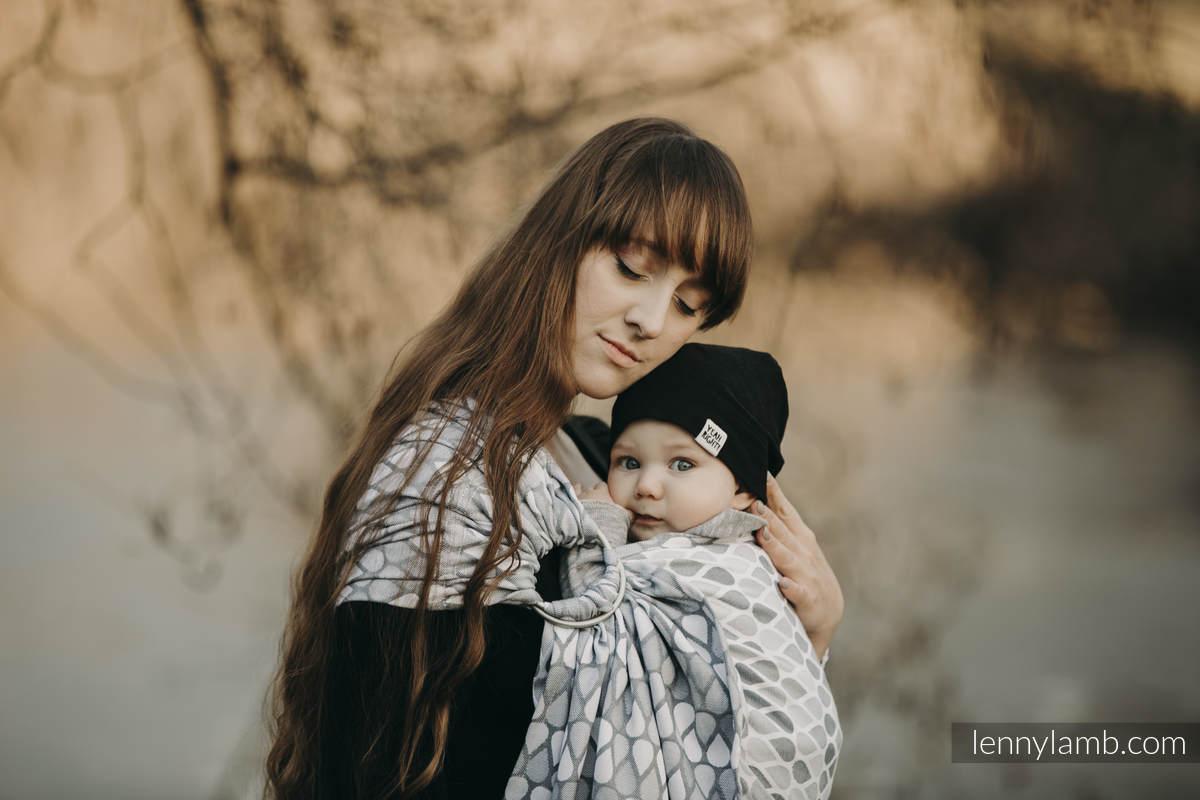 Ringsling, Jacquard Weave (100% cotton) - NOVA - Joyful Time ANTEK #babywearing