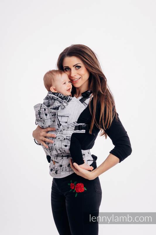 LennyGo Ergonomische Tragehilfe, Größe Baby, Jacquardwebung, 100% Baumwolle - SYMPHONY CLASSIC #babywearing