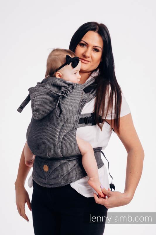 2b0e0ba27f7 LennyGo Basic Line Ergonomic Carrier - GRAPHITE - Baby Size ...