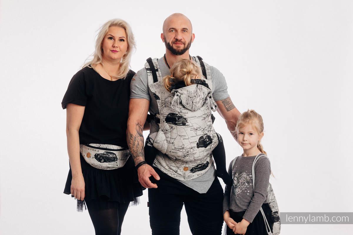 Nosidełko Ergonomiczne LennyGo z tkaniny żakardowej 100% bawełna , rozmiar Baby - DROGI MARZEŃ #babywearing