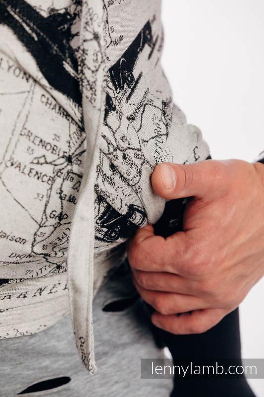 WRAP-TAI portabebé Mini con capucha/ jacquard sarga/100% algodón - ROAD DREAMS #babywearing