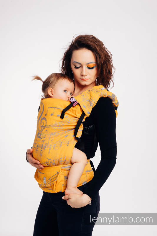 LennyUp Carrier, Standard Size, jacquard weave 100% cotton - wrap conversion from SYMPHONY - SUN GIFT  #babywearing