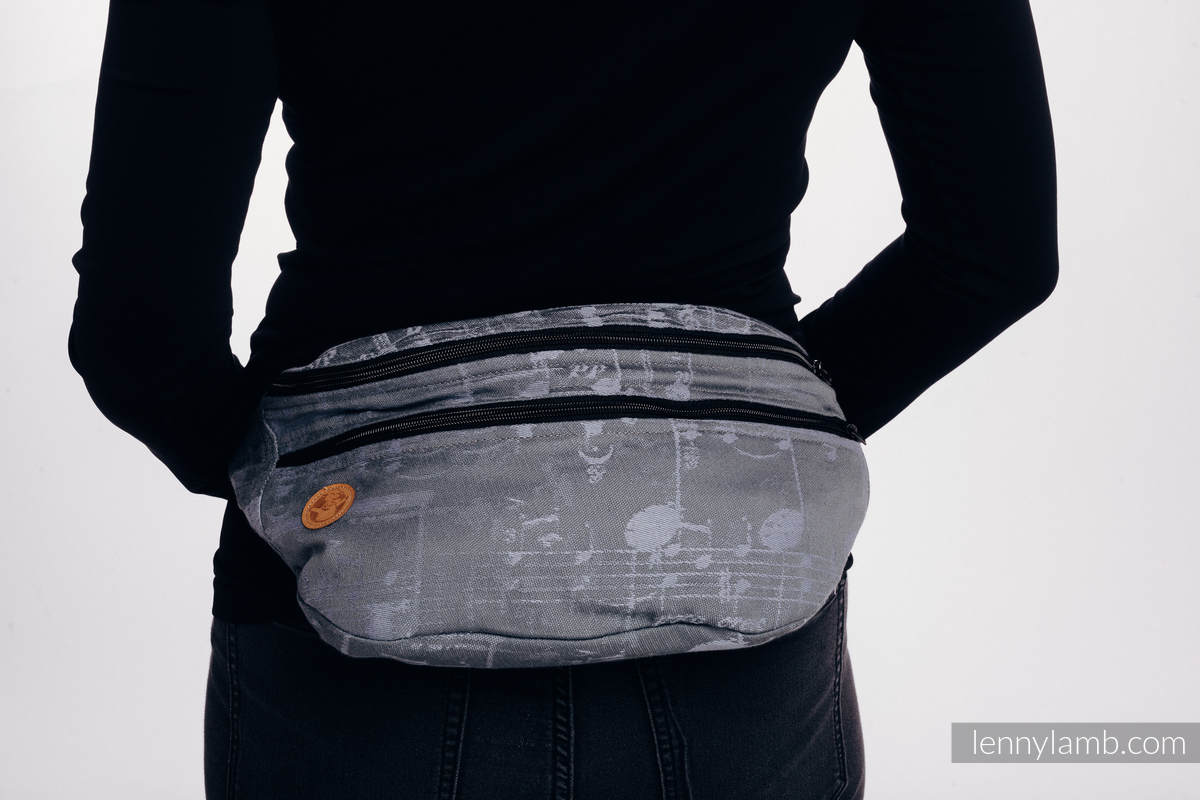 Waist Bag made of woven fabric, size large (100% cotton) - SYMPHONY - THE KING OF FRUITS #babywearing