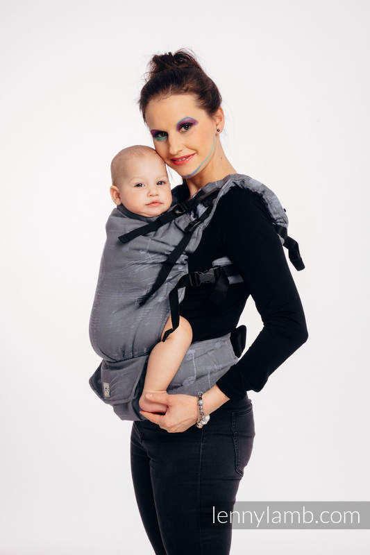 LennyUp Carrier, Standard Size, jacquard weave 100% cotton - SYMPHONY - THE KING OF FRUITS #babywearing