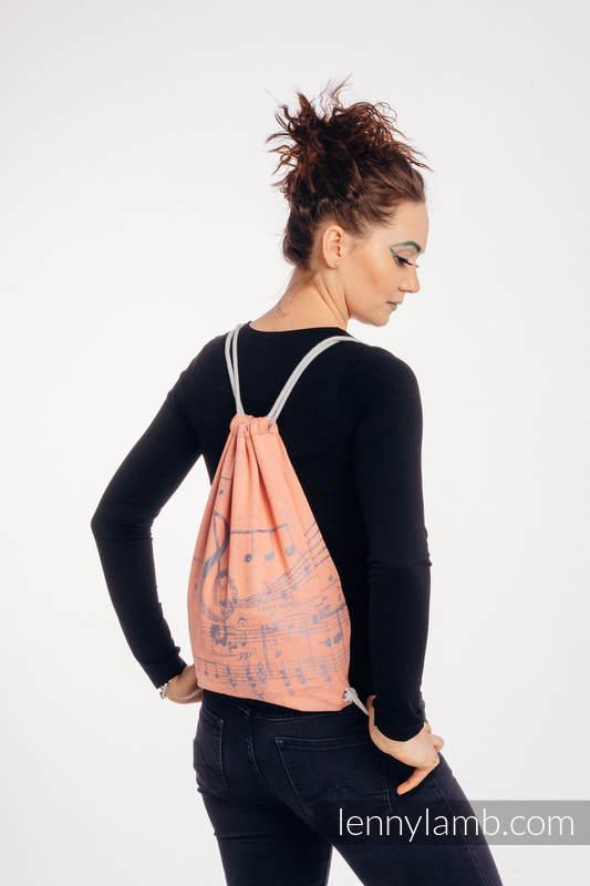 Plecak/worek - 100% bawełna - SYMFONIA - PARADISE CITRUS - uniwersalny rozmiar 32cmx43cm #babywearing