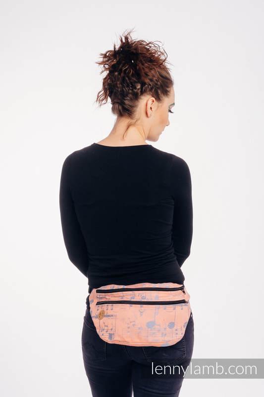 Saszetka z tkaniny chustowej, rozmiar large (100% bawełna) - SYMFONIA - PARADISE CITRUS #babywearing
