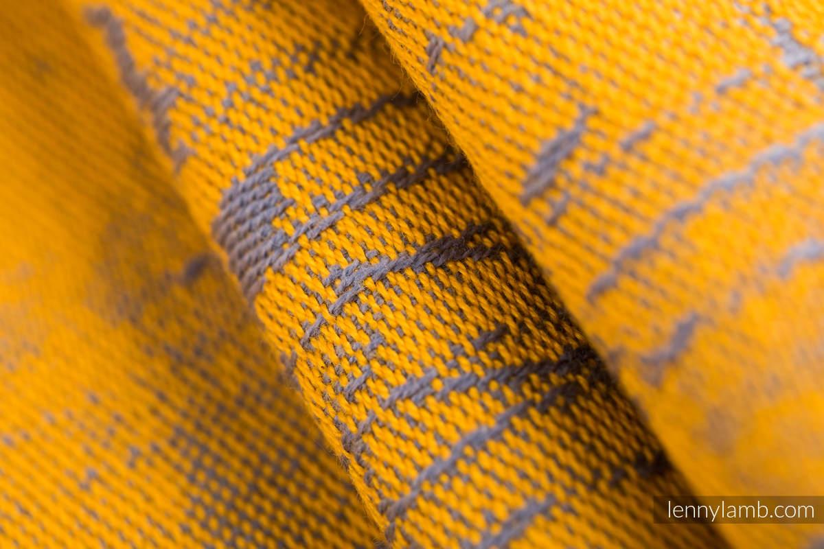 Baby Wrap, Jacquard Weave (100% cotton) - SYMPHONY - SUN GIFT - size XS (grade B) #babywearing