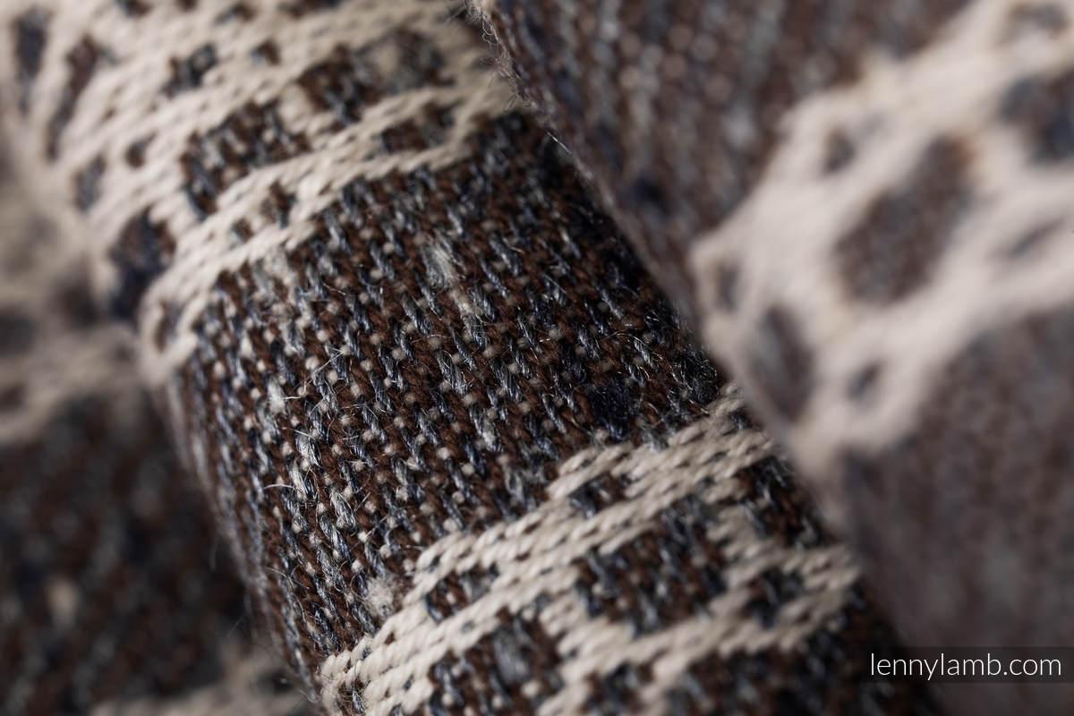 Baby Wrap, Jacquard Weave (74% cotton 26% silk) - SENTIMENT - LACE - size L #babywearing