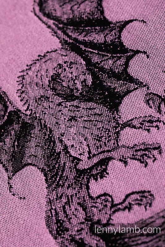 Baby Wrap, Jacquard Weave (100% cotton) - DRAGON - DRAGON FRUIT - size L (grade B) #babywearing