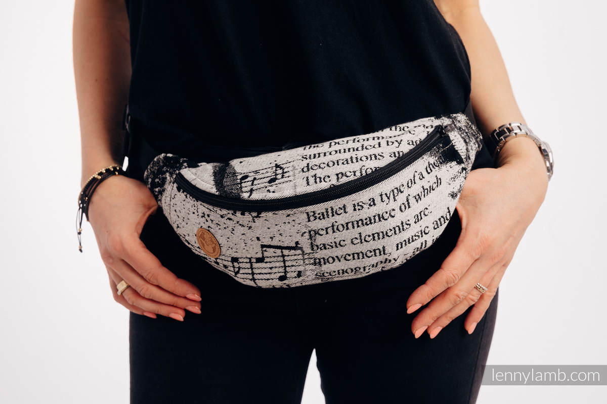 Waist Bag made of woven fabric, (100% cotton) - DANCING DREAMS #babywearing