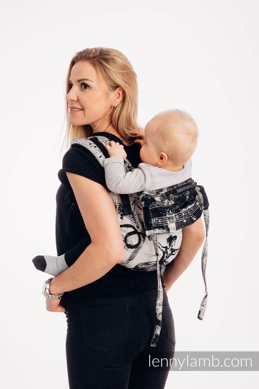 Lenny Buckle Onbuhimo Tragehilfe, Größe Standard, Jacquardwebung (100% Baumwolle) - DANCING DREAMS #babywearing
