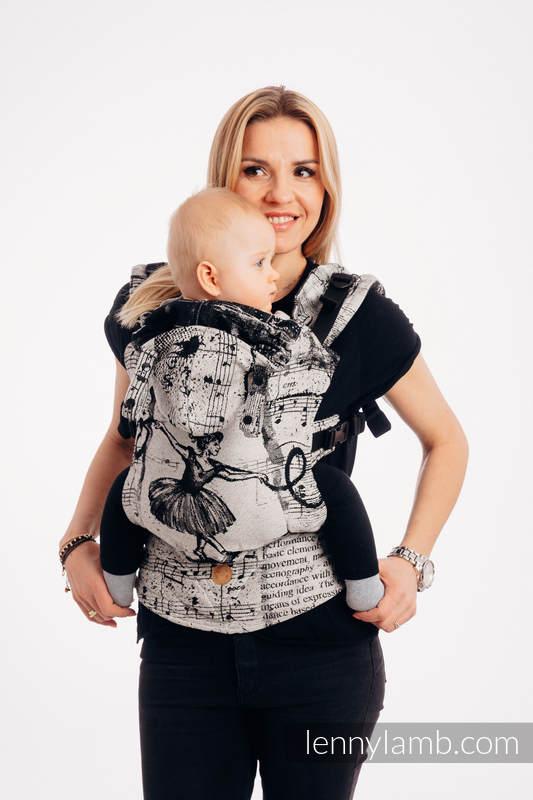 Nosidełko Ergonomiczne LennyGo z tkaniny żakardowej 100% bawełna , rozmiar Toddler - TAŃCZĄCE MARZENIA #babywearing