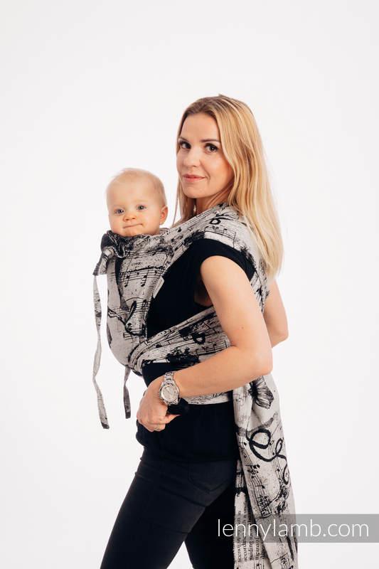 Nosidełko dla dzieci WRAP-TAI Toddler, 100% bawełna, splot żakardowy, z kapturkiem - TAŃCZĄCE  MARZENIA #babywearing