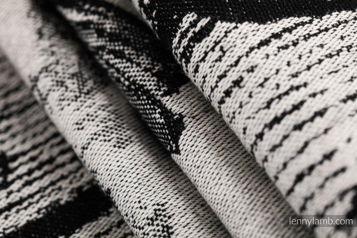 Żakardowa chusta do noszenia dzieci, 100% bawełna - TAŃCZĄCE MARZENIA - rozmiar L #babywearing