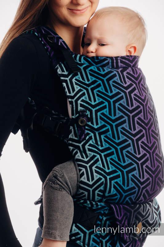 Nosidełko LennyUpGrade z tkaniny żakardowej 100% bawełna , rozmiar standard - TRINITY KOSMOS #babywearing