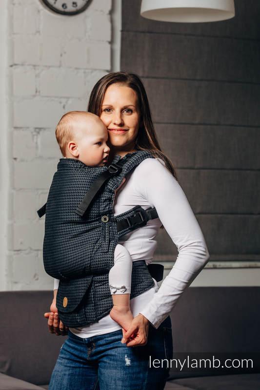Nosidełko LennyUpGrade, splot tessera, 100% bawełna , rozmiar standard - BASIC LINE GALAKSYT #babywearing