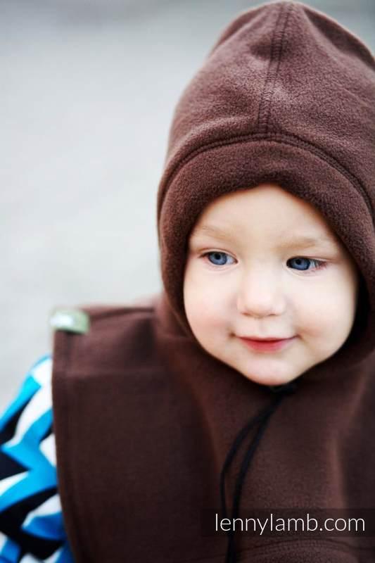 Cubrecuellos doble - marrón (grado B) #babywearing