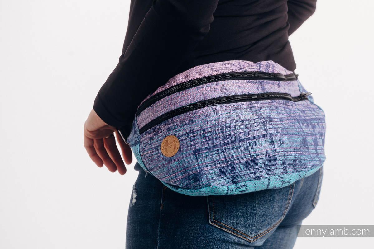 Gürteltasche, hergestellt vom gewebten Stoff, Große Größen  (100% Baumwolle) - SYMPHONY - PARADISE SUNRISE   #babywearing