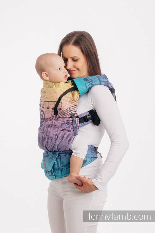 Nakładki Ochronne na Pasy Ramienne, (60% bawełna, 40% poliester) - Zestaw - SYMFONIA - RAJSKI WSCHÓD SŁOŃCA #babywearing