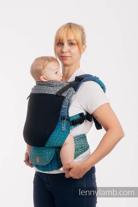 LennyUpGrade Mesh Carrier, Standard Size, jacquard weave (75% cotton, 25% polyester) - BIG LOVE ATMOSPHERE #babywearing