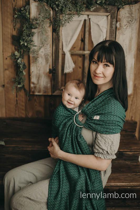 Ringsling, Jacquard Weave (100% cotton) - NOVA - LittleLove EMILIA  - standard 1.8m #babywearing