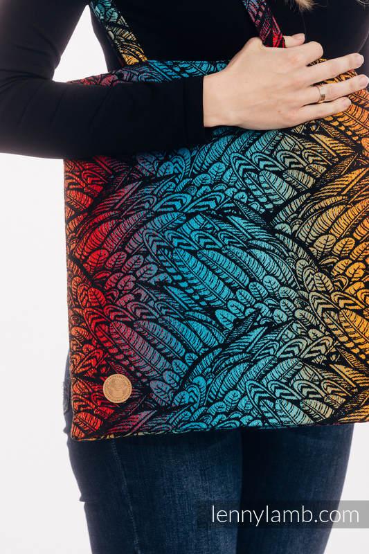 Einkaufstasche, hergestellt aus gewebtem Stoff (100% Baumwolle) - WILD SOUL - DAEDALUS #babywearing