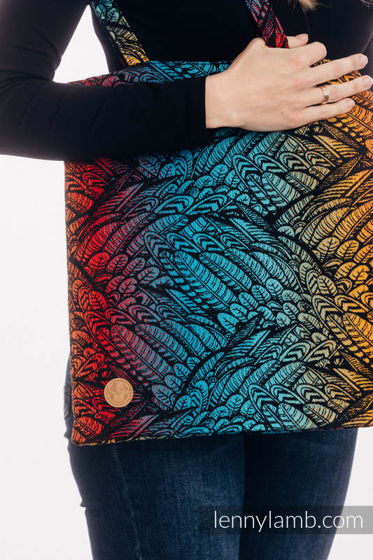 Shopping bag made of wrap fabric (100% cotton) - WILD SOUL - DAEDALUS #babywearing