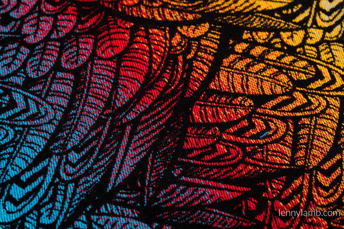 Żakardowa chusta do noszenia dzieci, 100% bawełna - WOLNY DUCH - DEDAL - rozmiar M #babywearing