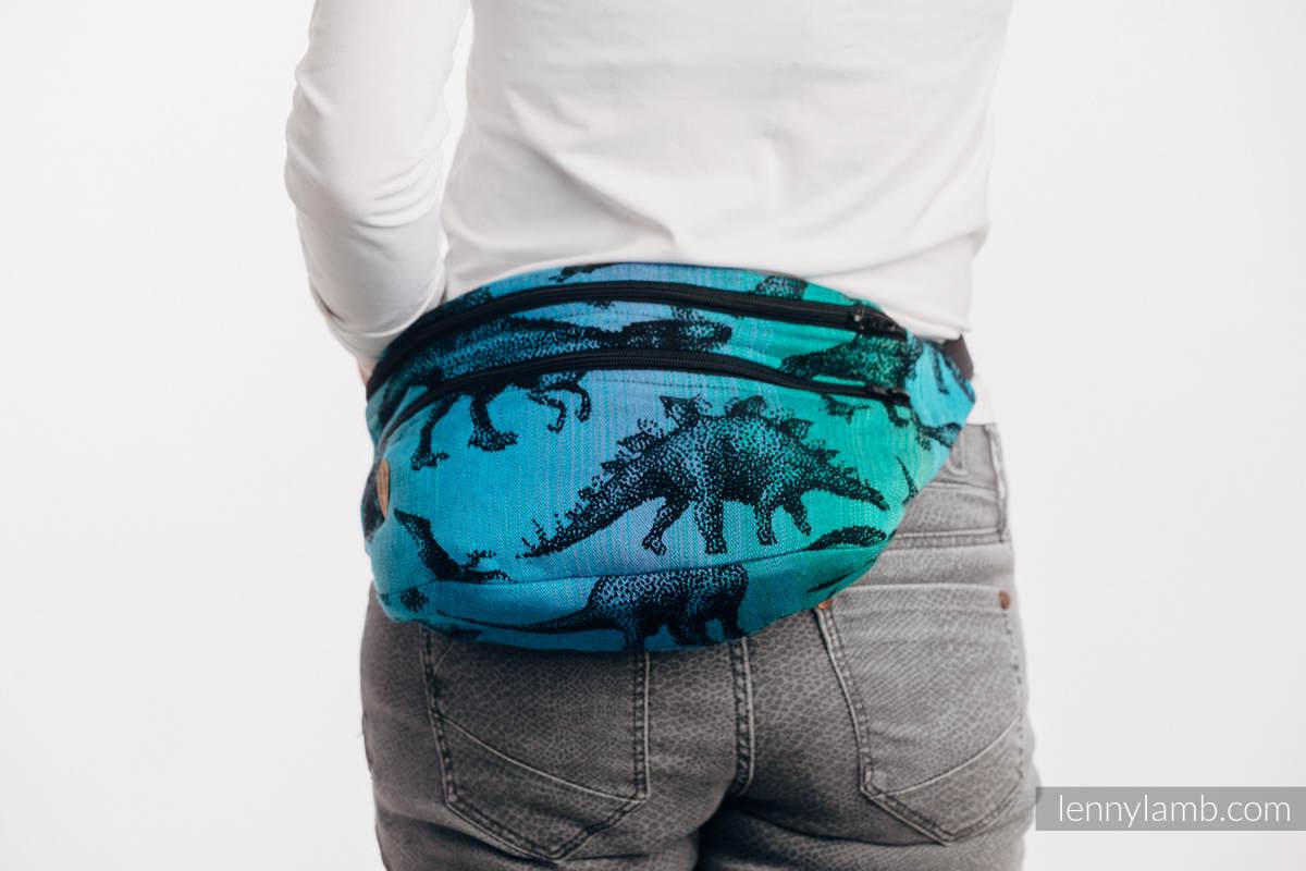 Riñonera hecha de tejido de fular, talla grande (100% algodón) - JURASSIC PARK #babywearing