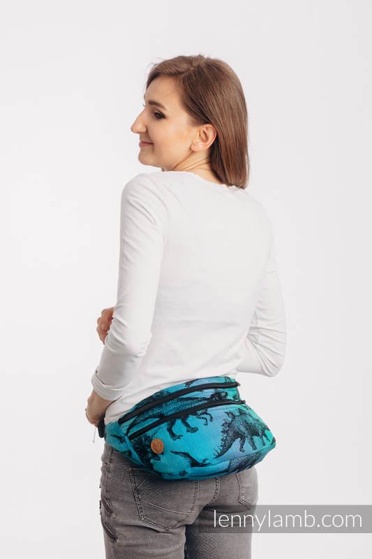 Gürteltasche, hergestellt vom gewebten Stoff, Große Größen  (100% Baumwolle) - JURASSIC PARK #babywearing