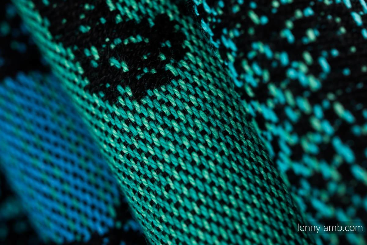 Baby Wrap, Jacquard Weave (100% cotton) - JURASSIC PARK - size M #babywearing