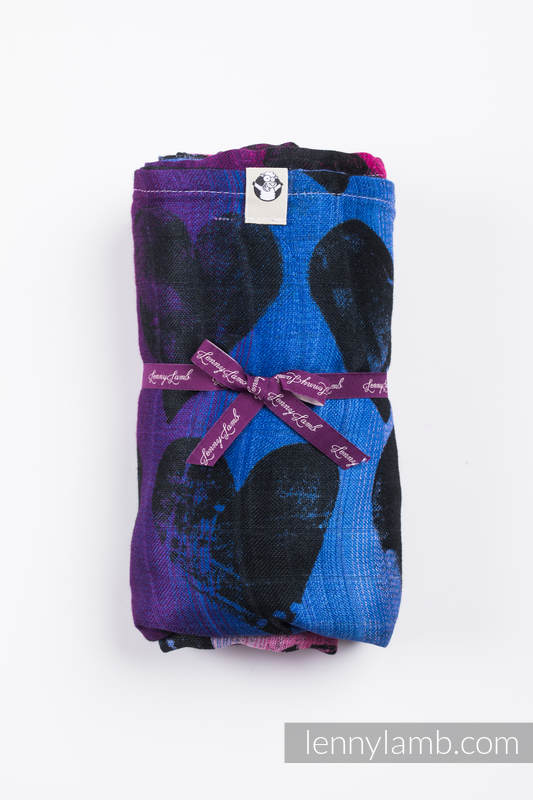 Swaddle Blanket Maxi - LOVKA PINKY VIOLET #babywearing