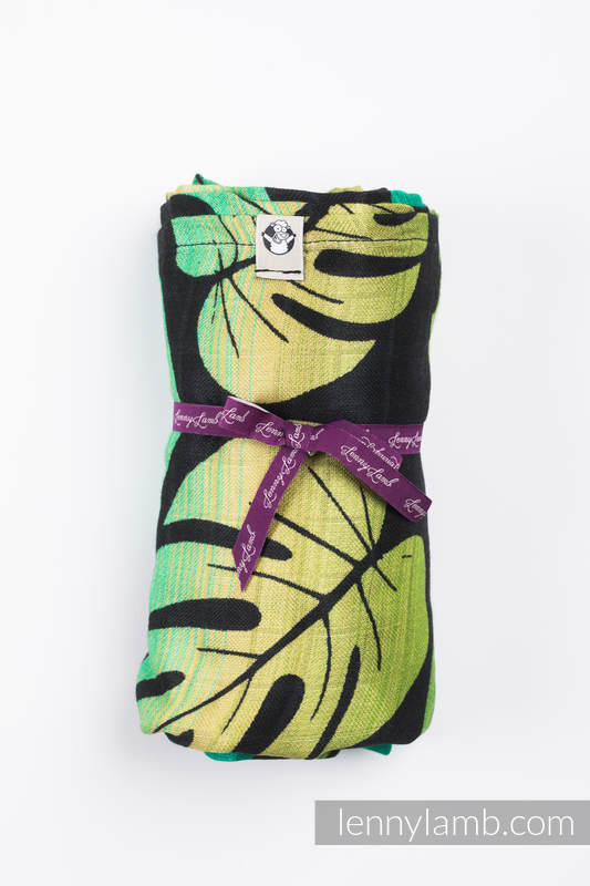 Swaddle Blanket Maxi - MONSTERA #babywearing