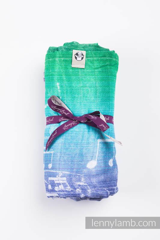 Swaddle Wrap Maxi - SYMPHONY AURORA #babywearing