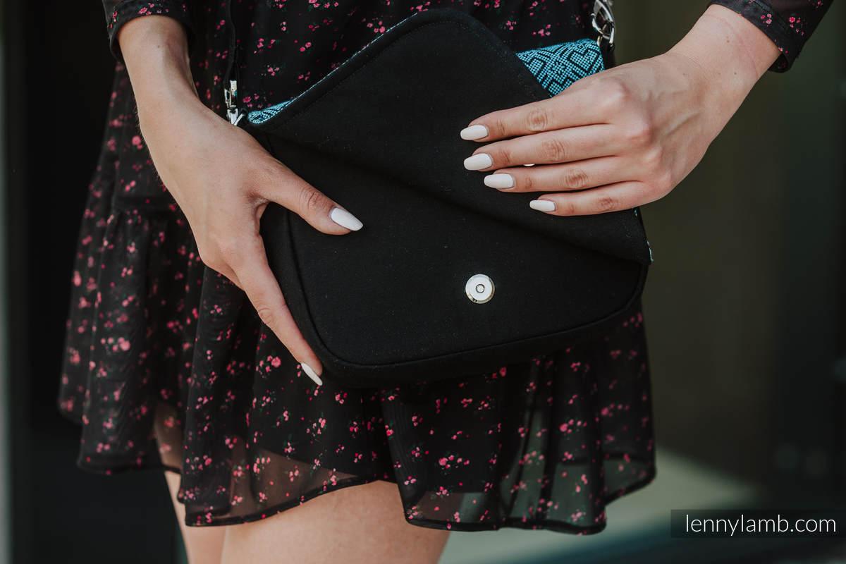 Waist Bag/Bag 2in1 CITY, (56% cotton, 44% viscose) - BIG LOVE ATMOSPHERE #babywearing
