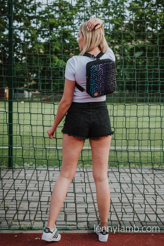 Plecak/Torba 2w1 SPORTY, (56% bawełna, 44% wiskoza) - TRINITY KOSMOS #babywearing