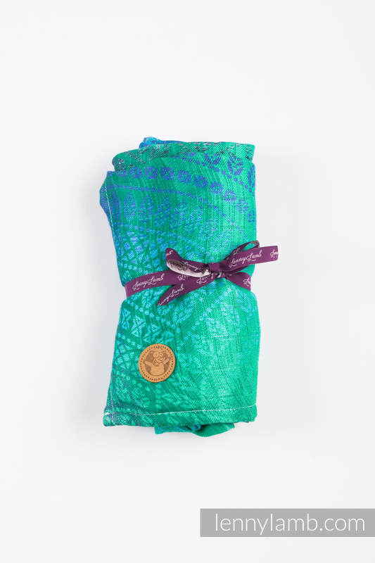 Swaddle Wrap - PEACOCK'S TAIL - FANTASY  #babywearing