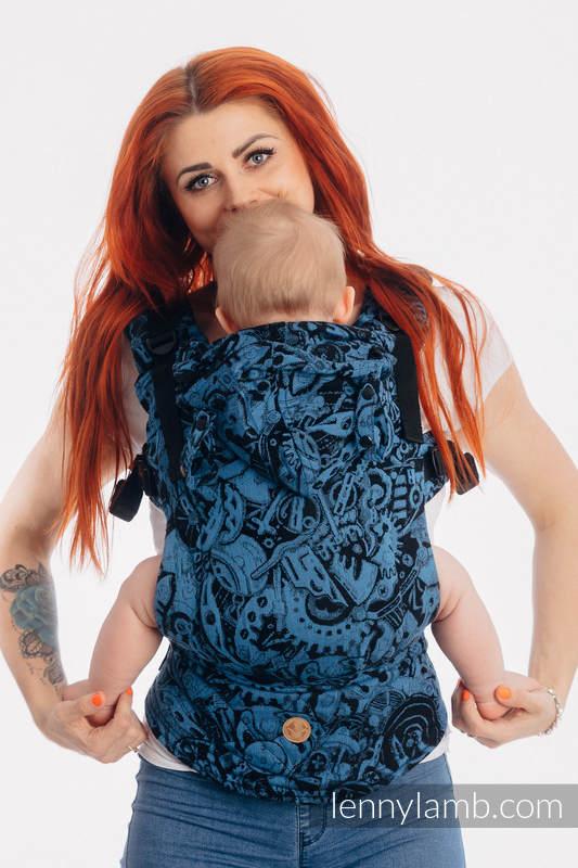 Nosidełko Ergonomiczne LennyGo z tkaniny żakardowej 100% bawełna , rozmiar Baby - MECHANIZM PERPETUUM #babywearing