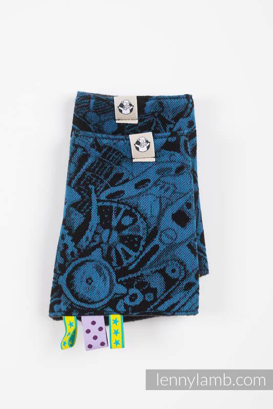Drool Pads & Reach Straps Set, (60% cotton, 40% polyester) - CLOCKWORK PERPETUUM #babywearing