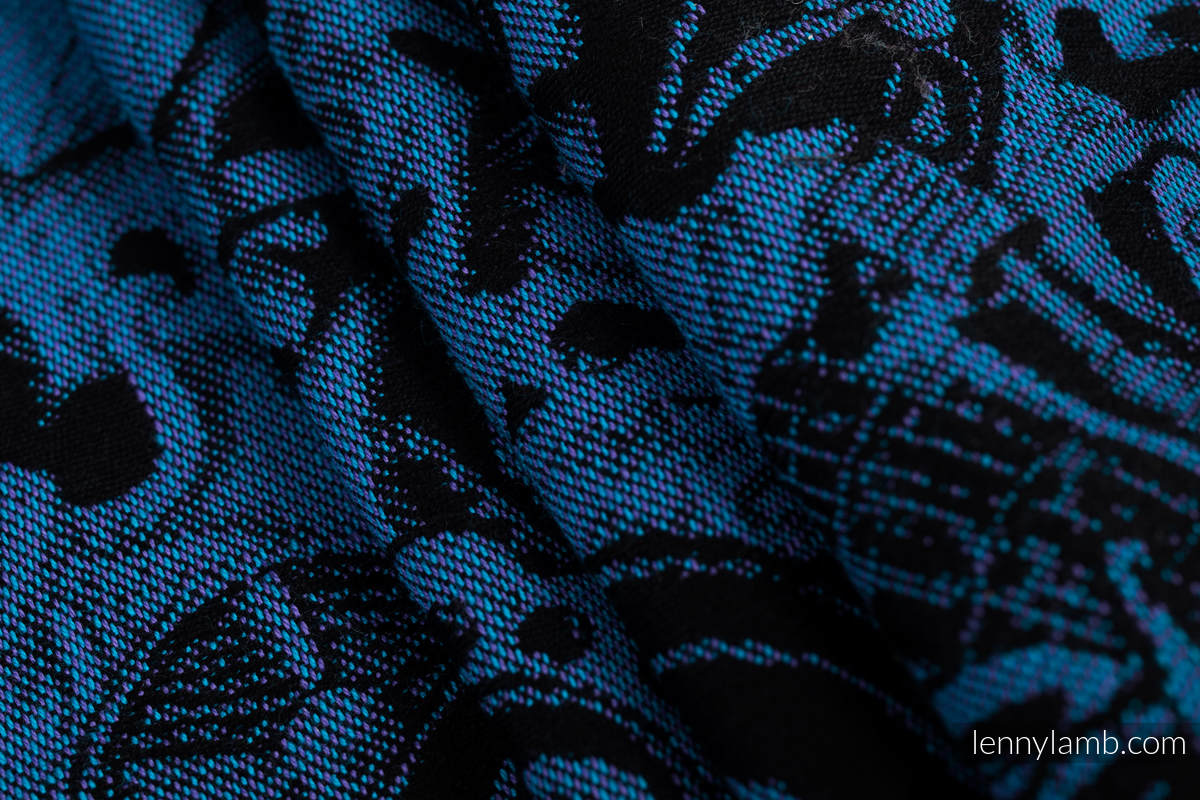 Tragetuch, Jacquardwebung (100% Baumwolle) - CLOCKWORK PERPETUUM - Größe XL #babywearing