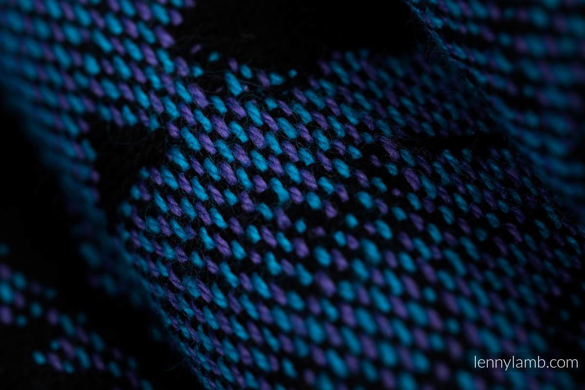 Fular, tejido jacquard (100% algodón) - CLOCKWORK PERPETUUM - talla XS #babywearing