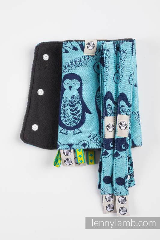 Set de protege tirantes y tiras de alcance (60% algodón, 40% Poliéster) - PLAYGROUND - BLUE  #babywearing
