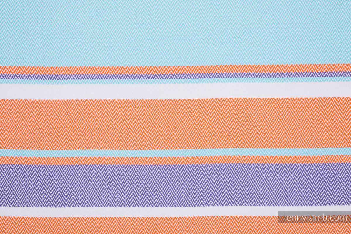 Baby Wrap, Herringbone Weave (100% cotton) - LITTLE HERRINGBONE MANDARIN HEAVEN - size S #babywearing