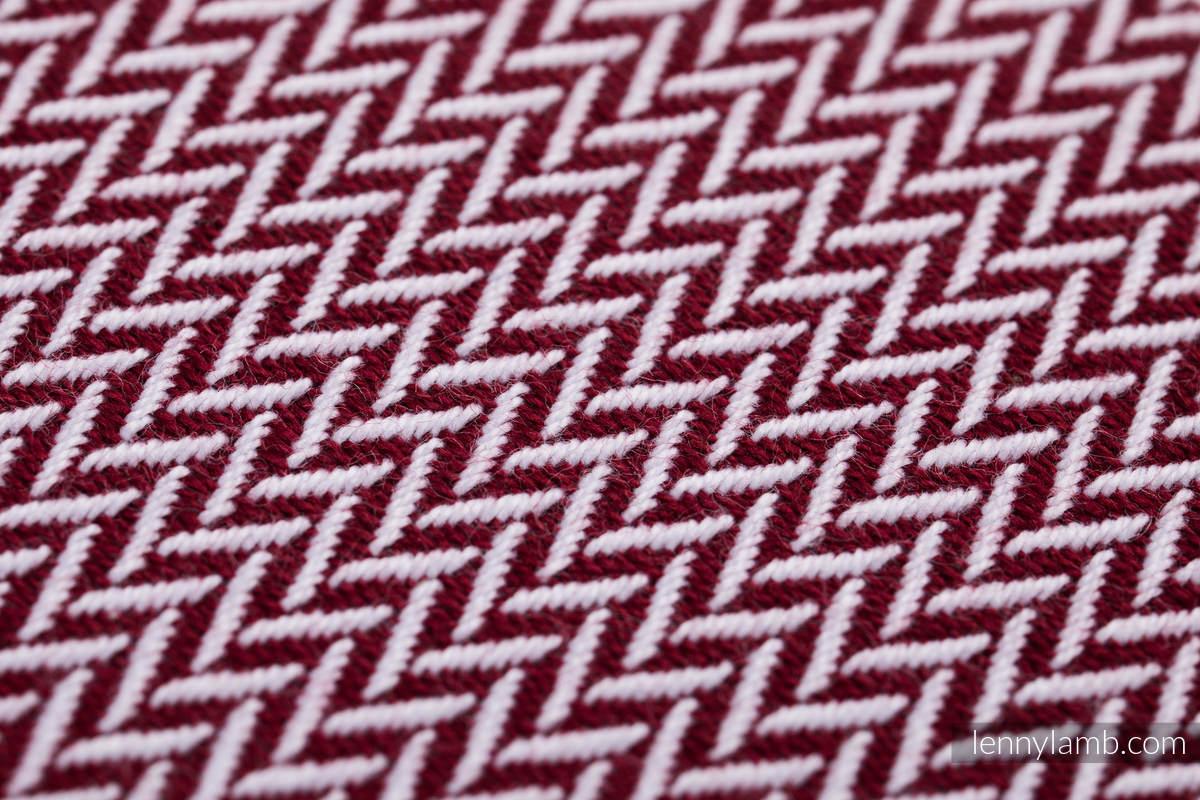 Baby Wrap, Herringbone Weave (100% cotton) - LITTLE HERRINGBONE ORANGE BLOSSOM - size S #babywearing